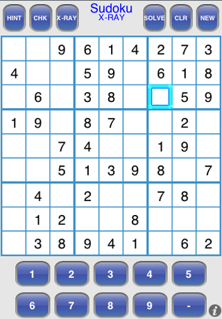 Screenshot Sudoku X-RAY