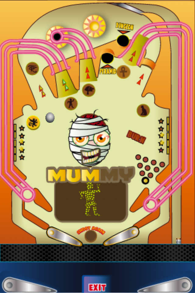 Screenshot Creepy Pinball